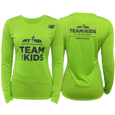The TFK Women's Long Sleeve NB Tech Tee is made of a soft, sweat-wicking and odor resistant fabric. The athletic fit ensures the shirt stays out of your way so you can be free to train for your races at your optimum level of performance.